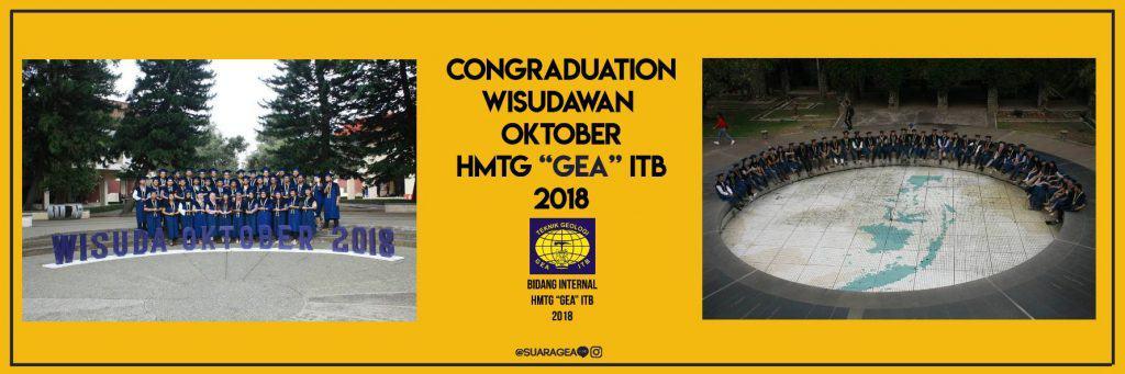 """Wisuda Oktober HMTG """"GEA"""" ITB"""
