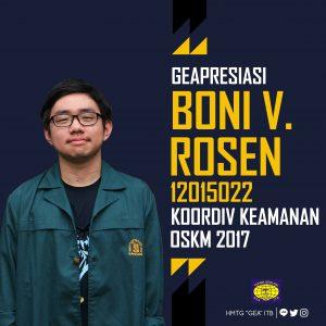 Boni Vasius Rosen