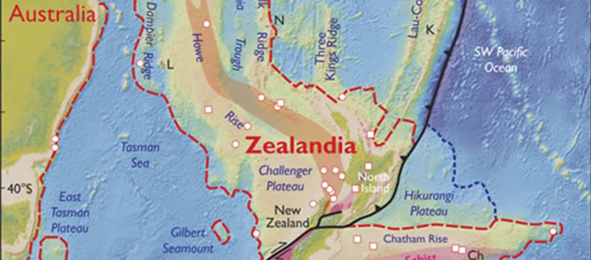 Zealandia, Benua kedelapan yang tersembunyi