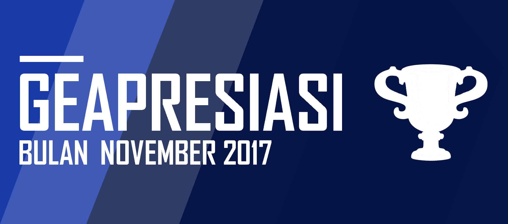 GEAPRESIASI di Bulan November 2017