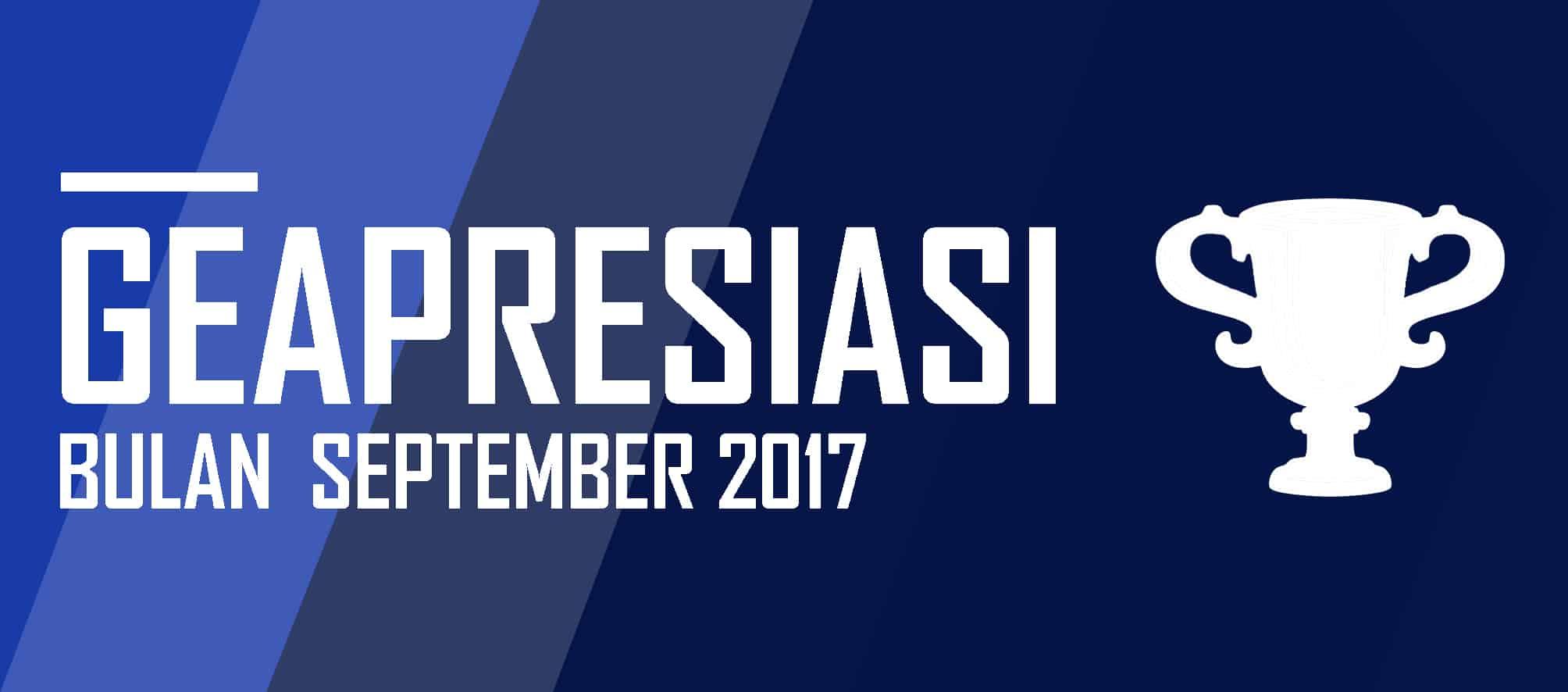 GEAPRESIASI di Bulan September 2017